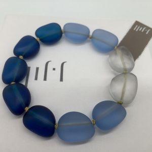 J. Jill Jewelry - J.Jill - Great Indigo Seaglass Bracelet